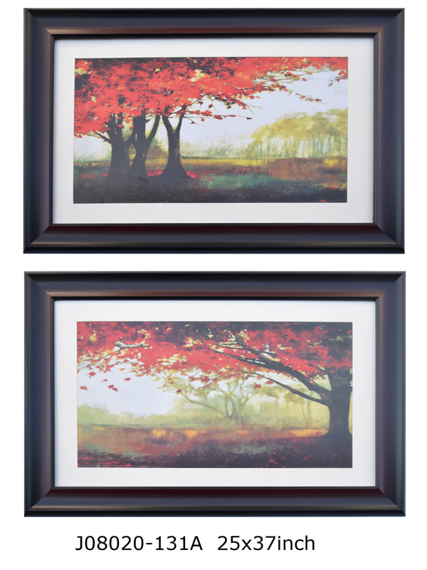 Framed with Maple Pictures